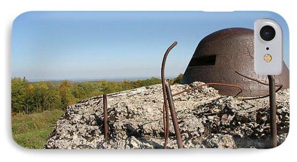 IPhone 7 Case featuring the photograph Fort De Douaumont - Verdun by Travel Pics