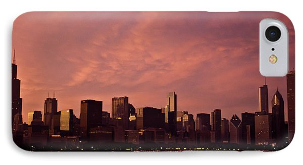 Fort Dearborn IPhone Case by Michael Nowotny