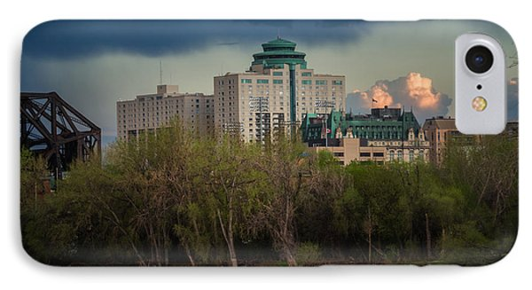 Fort Garry Hotel/fort Garry Place Phone Case by Bryan Scott