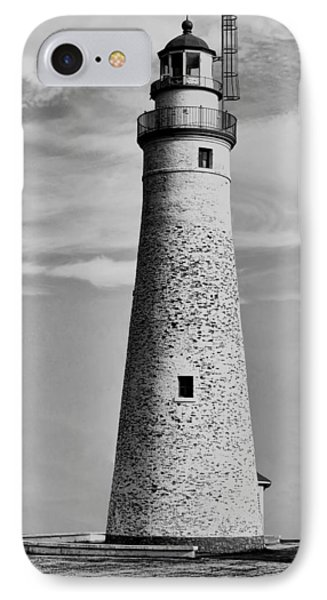 Fort Gratiot Lighthouse IPhone Case by Pat Cook