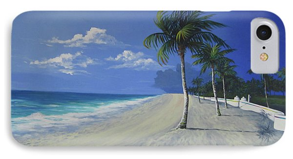 Fort Lauderdale Beach IPhone Case by Anne Marie Brown