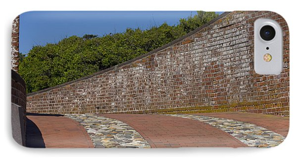 Fort Macon IPhone Case by Betsy Knapp