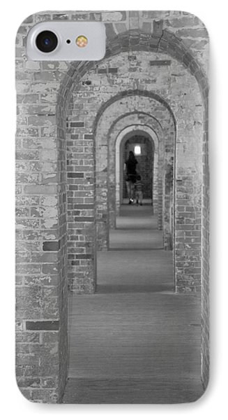 Fort Macon Going Home IPhone Case by Betsy Knapp