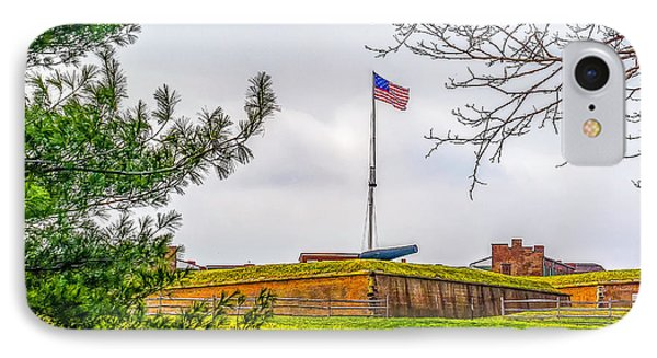 IPhone Case featuring the photograph Fort Mchenry National Monument  by Nick Zelinsky