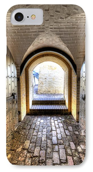 Fort Moultrie Bunker Doors IPhone Case by Dustin K Ryan