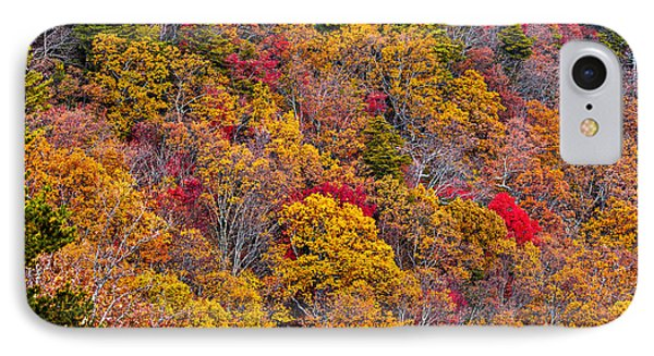 Fort Mountain State Park Cool Springs Overlook Phone Case by Bernd Laeschke