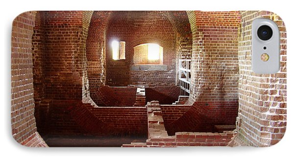 Fort Pulaski I IPhone Case by Flavia Westerwelle