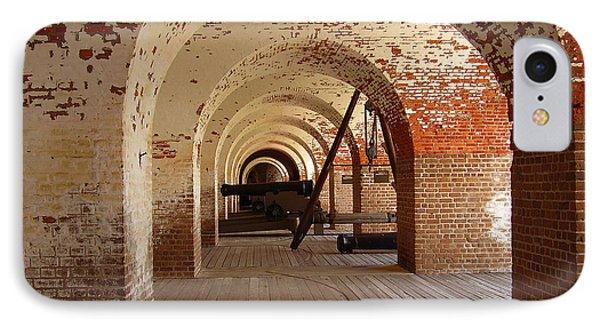Fort Pulaski II IPhone Case by Flavia Westerwelle