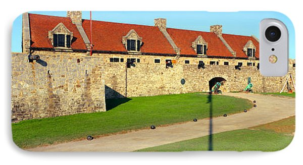 Fort Ticonderoga, Lake Champlain, New IPhone Case by Panoramic Images
