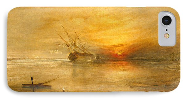 Fort Vimieux IPhone Case by Joseph Mallord William Turner
