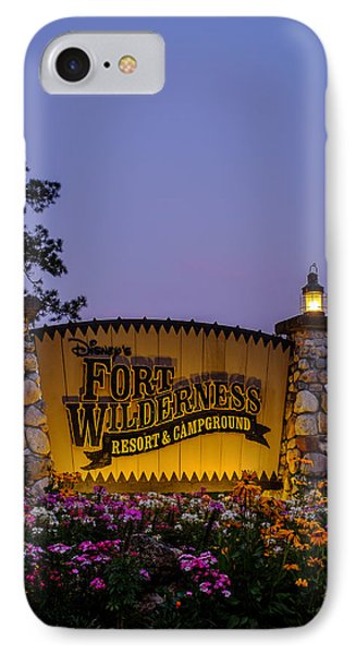Fort Wilderness Resort And Campground IPhone Case