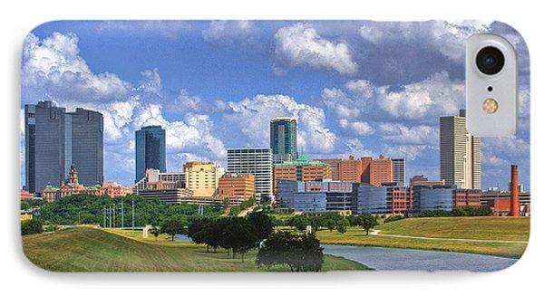 Fort Worth #1 IPhone Case