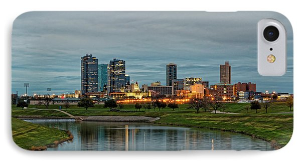 Fort Worth Color Phone Case by Jonathan Davison