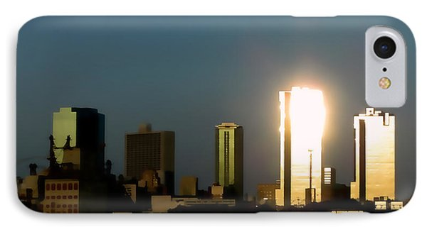 Fort Worth Gold IPhone Case by Douglas Barnard