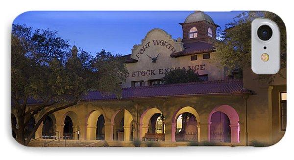 Fort Worth Livestock Exchange IPhone Case