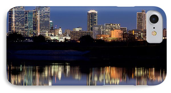 Fort Worth Reflection 41916 IPhone Case