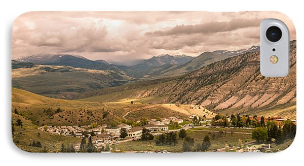 Fort Yellowstone IPhone Case by Robert Bales