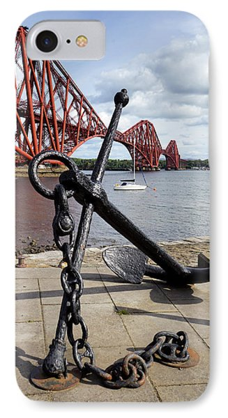 IPhone 7 Case featuring the photograph Forth Bridge by Jeremy Lavender Photography