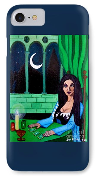 IPhone Case featuring the painting Fortune Teller by Don Pedro De Gracia
