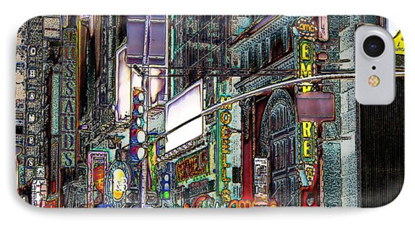 Forty Second And Eighth Ave N Y C IPhone Case