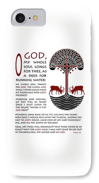 Forty Second Psalm Phone Case by Lawrence Klimecki