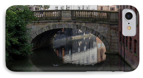IPhone Case featuring the photograph Foss Bridge - York by Scott Lyons