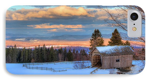 IPhone Case featuring the photograph Foster Covered Bridge - Cabot, Vermont by Joann Vitali