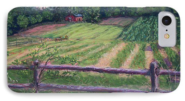 Fosterfields Farm Phone Case by Laurie Paci