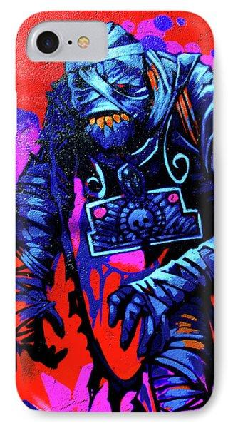 Found Graffiti 25 Mummy Phone Case by Jera Sky