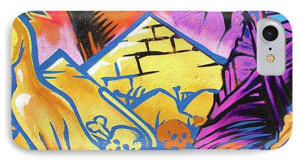 Found Graffiti 28 Cat Phone Case by Jera Sky