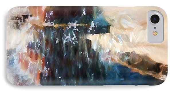 IPhone Case featuring the digital art Fountain Pleasure by Margie Chapman