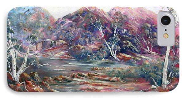 Fountain Springs Outback Australia IPhone Case