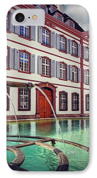 Fountains Of Basel Switzerland IPhone Case by Carol Japp