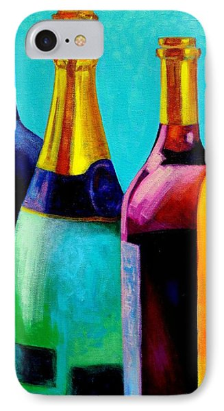 Four Bottles Phone Case by John  Nolan