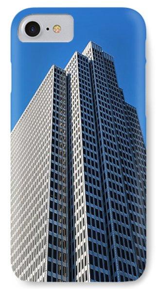 Four Embarcadero Center Office Building - San Francisco - Vertical View IPhone Case by Matt Harang