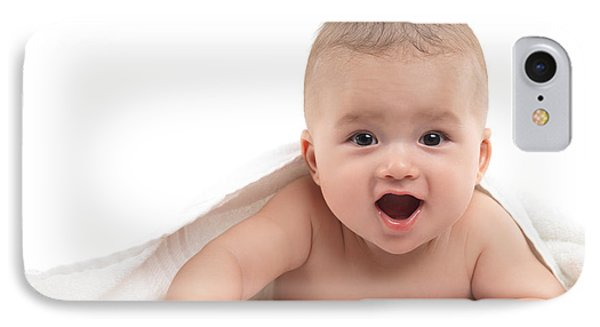Four Month Old Baby Boy Phone Case by Oleksiy Maksymenko