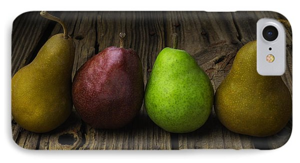 Four Pears Still Life IPhone Case by Garry Gay