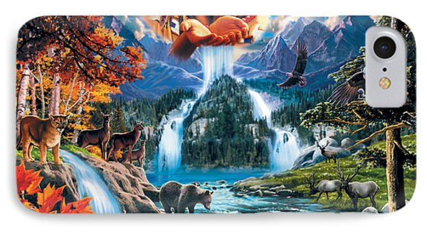 Four Seasons IPhone Case by Robin Koni