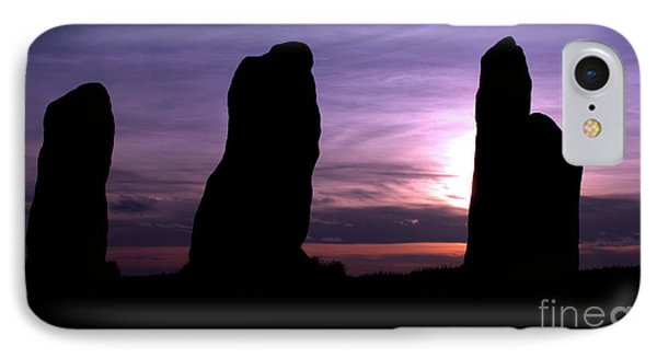 Four Stones Folly Clent Hills IPhone Case