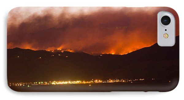 Fourmile Canyon Fire Burning Above North Boulder Phone Case by James BO  Insogna