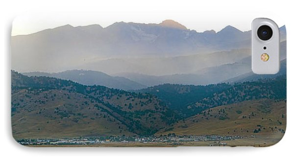 Fourmile Canyon Wildfire Front Range Wind View 09-09-10 Panorama Phone Case by James BO  Insogna