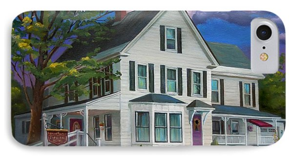 Fournier Funeral Home IPhone Case by Nancy Griswold