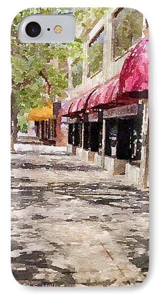 Fourth Avenue IPhone Case by Donald S Hall