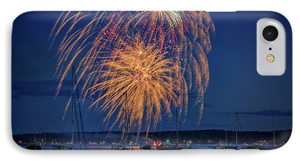 Fourth Of July In Boothbay Harbor IPhone Case