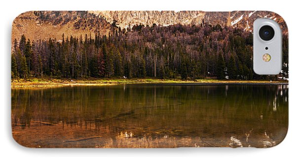 Fourth Of July Lake In White Clouds Wilderness In Idaho IPhone Case by Vishwanath Bhat