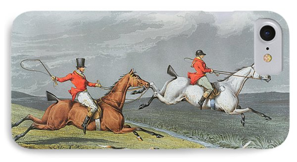 Fox Hunting - Full Cry Phone Case by Charles Bentley