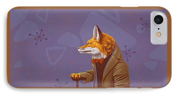 Fox IPhone Case by Jasper Oostland