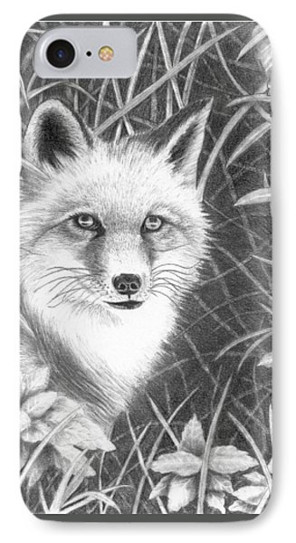 Fox IPhone Case by Lawrence Tripoli