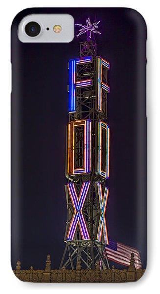 Fox Theatre Detroit IPhone Case by Nicholas  Grunas
