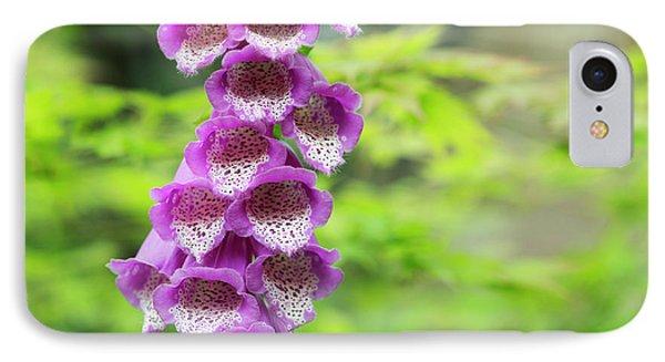 Foxglove Flowering IPhone Case
